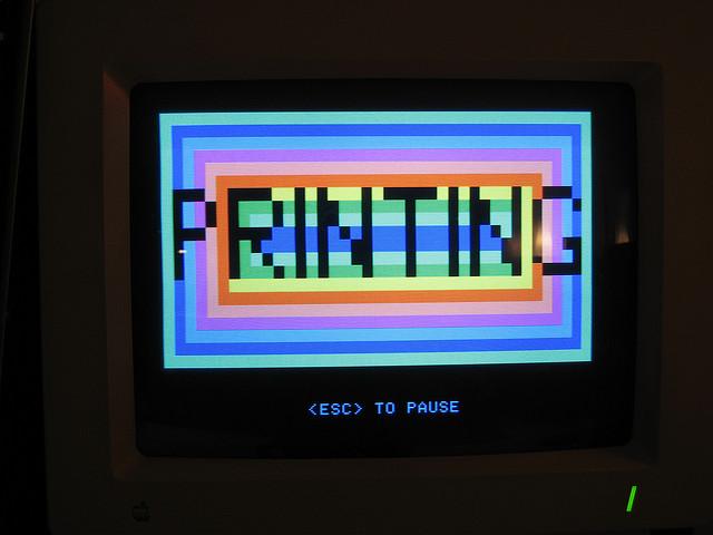 printing screen